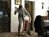 Harsh Teacher Punishes Naughty Schoolgirl With Hard Spanking