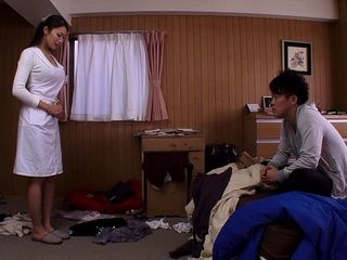 Blackmailed Stepmom Reiko Kobayakawa Gets Violated By Her Step Son