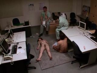 Japanese Office Lady Chisato Shoda Gets Brutally Raped by Janitors