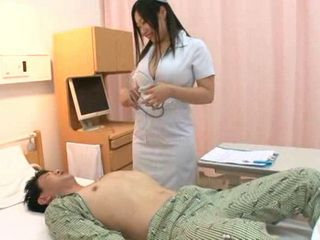 Busty Nurse Momo Shirato Heals Boner Of Her Patient