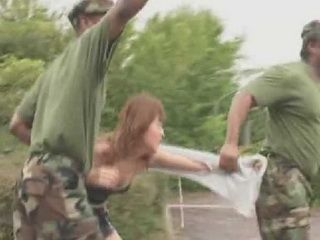 Japanese Girl Gets Abused And Molested By Black Marine Soldiers