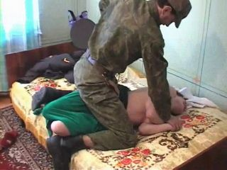 Housewife Gets  Fucked By Soldier