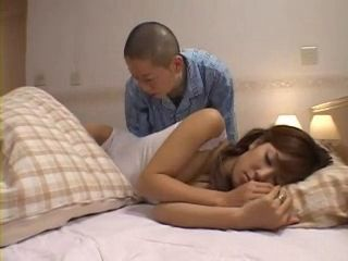 Sleeping Step Mother Rimu Himeno Groped By Her Teen Step Son