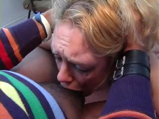 Dutch Blond Amanda Pearly Rough Throat and Anal Fuck