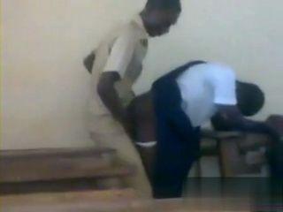 Kongo Teacher Busted Fucking Student Girl at Classroom