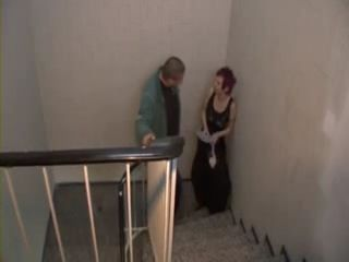 Mature German Housekeeper Fucked On Stairs