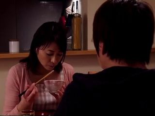 Stepmother Hisae Yabe Home Alone With Her Stepson