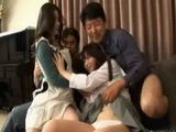 Mother Daughter Son and Father - Japanese Whole Family  Video