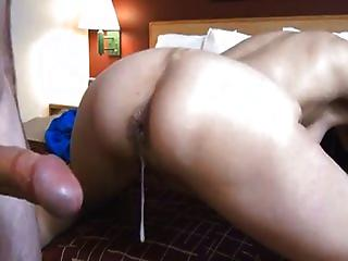 Hubby Empty His Balls Deep Into Wifes Ass On Homemade Tape