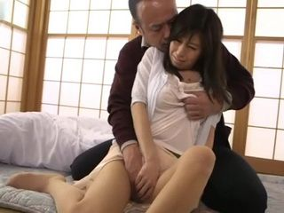 Daughter In Law Chihiro Akino Gets Forced To Fuck By Her Father In Law