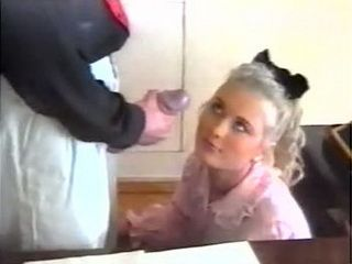 Russian Amateur Blonde at her First Porn Shooting