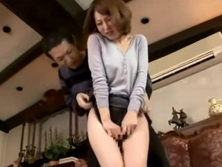 Stepmom Not Wearing Panties Ren Serizawa Attacked and Fucked By Her Stepson