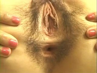 Office Lady Exposing Hairy Pussy and Asshole xLx