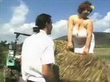 Peasant Stepson Fucked His BBW Stepmom In Field