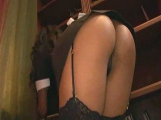 Ebony MILF Maid Teased Her Boss Too Much
