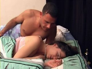 Sleeping Unwilling Wife Abused and Fucked In Sleep