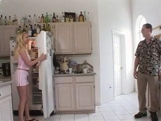 Dads Friend Anal Fucks Blonde Teen In the Kitchen