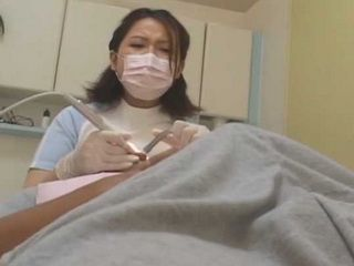 Patients Boner Totally Distracts Japanese Milf Dentist Attention