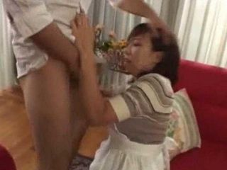 Mature Maid Gets  Abused by Bosses Son