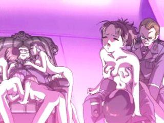 Hentai girls groupfucked by soldiers
