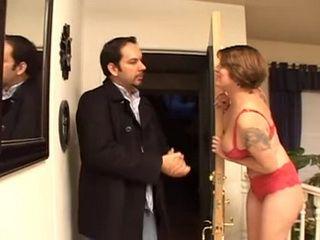 Busty Slutty Mother Kayla Quinn Fucks Her Daughter's New Boyfriend