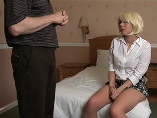 British Teen Daughter Asks Her Father To Teach Her How To Fuck