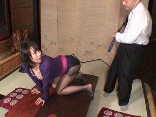 Submissive Secretary Yuuki Maeda Gets Portion of Punishment By Her Boss