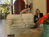 Naughty Daughter Megan Foxx Sneaks With Boyfriend Cris Commando Behind Her Mother Jodi West Back To Fuck Him
