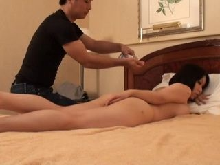 Milf Yuuki Maeda Began To Worry Too Late About Safety of her Pussy During This Strange Massage