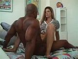 Beautiful Cuckold Wife Fucks Big Black Guy While Hubby Is at Work