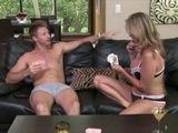 Stepmom Jodi West Loses Strip Poker With Her Stepson Levi Cash