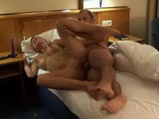 Busty Blonde Fucked Hard In A Hotel