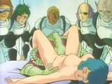 Hentai girl fucked by monster in front of her friends