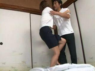 Father Fucks Private Teacher Airi Tachibana When Son Went Out