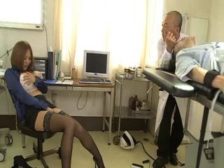 Busty Hottie Ruri Saijo Masturbates In Hospital During Brain Surgery Of Her Beloved One