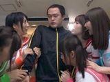 studentkinje-cirlidersice Ayashiro Yurina Abeno Miku Shinomiya Yuri Ayene Haruna Ayumi Tsubasa podelile kurac svog zbunj