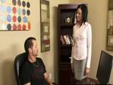 Hardcore Office Sex With Hot Busty Milf