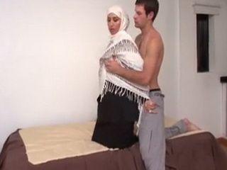 White Guy First Time Fucking Hijab Arab Girl