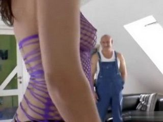 Unscrupulous English MILF Reporter Took Flood Watcher To Her Apartment To Fuck Him