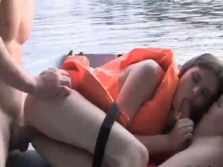 Nice Outdoor Fuck in a Rowboat