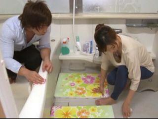 Dirty Man Harassed Sexy Girl Eri Tokushima in The Bathroom