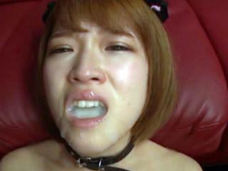 Filling Asian Girl Mouth With Sticky Jizz - Soro Shiina
