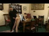 A Stupid Girl Spanked
