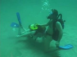 Scuba Diving Instructor Brought This Sport Into Whole New Level