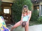 Anal Sex With Hot Neighbors Wife In A Backyard
