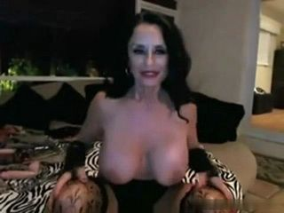 Busty Mature Toying Her Pussy and Ass on Cam