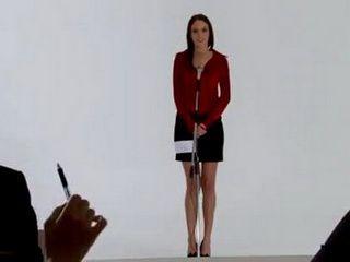 Gorgeous Girl Talke Into Pervesion On Casting Set
