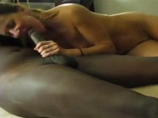 Amateur White Slut Serving Well Long Black Prick
