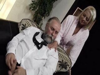 Sons New Busty Wife Caught Her Father In Law While Jerking