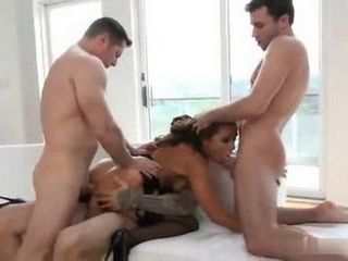Brutal Orgy Over Dirty Slut Adriana